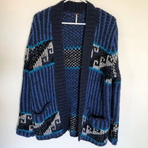 Free People wool sweater.